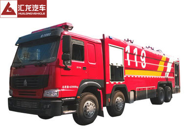 Durable Freightliner Fire Trucks  22T Foam Integrated Extinguishing System